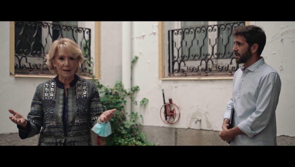 Esperanza Aguirre y Gonzo