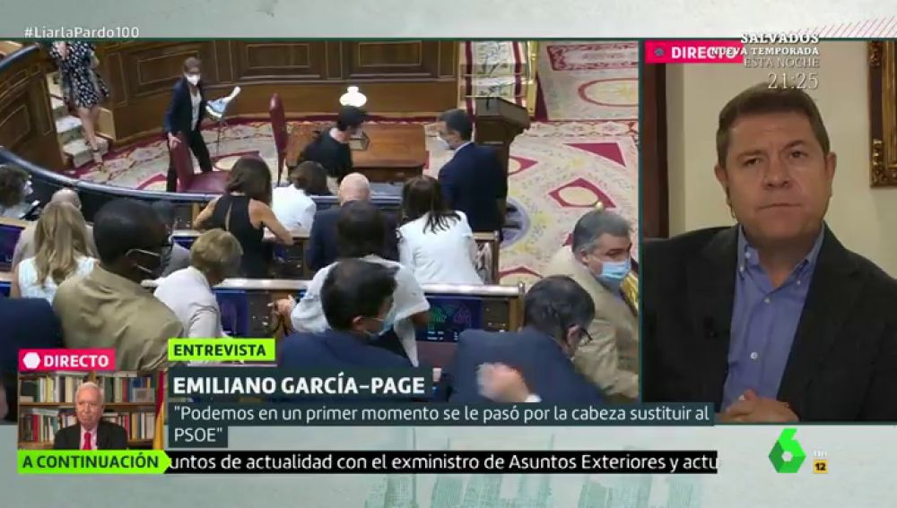 "García-Page: ""Podemos nació para acabar con el PSOE. Iglesias se vio Tsipras"""
