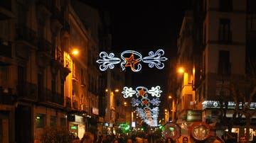 Luces de Navidad en Cuenca