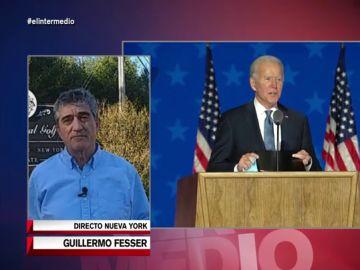 """Guillermo Fesser, sobre la transición en Estados Unidos: """"El sentido común se abrirá paso y Biden irá dando menos miedo"""""""