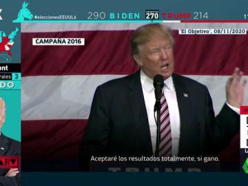 Donald Trump, durante la campaña de 2016