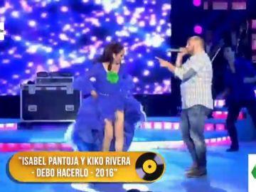 El peculiar dueto entre Isabel Pantoja y Kiko Rivera en 2016: así sonaba 'Debo hacerlo'