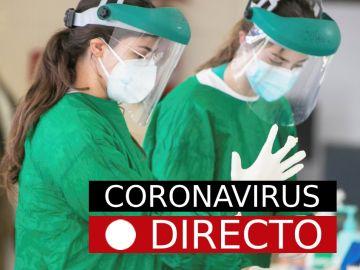 Coronavirus directo | Imagen de sanitarias con EPIs para protegerse del coronavirus