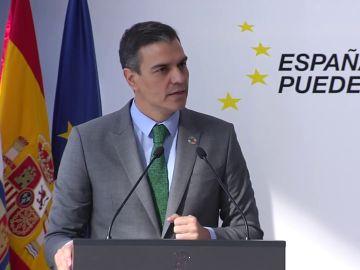 Pedro Sánchez presenta el programa de vacunación