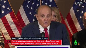 El abogado personal de Trump, Rudy Giuliani