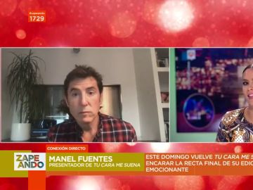 """Manel Fuentes 'revela' cómo será la vuelta de 'Tu cara me suena': """"Después de ocho meses hay quien no está en el mismo nivel"""""""