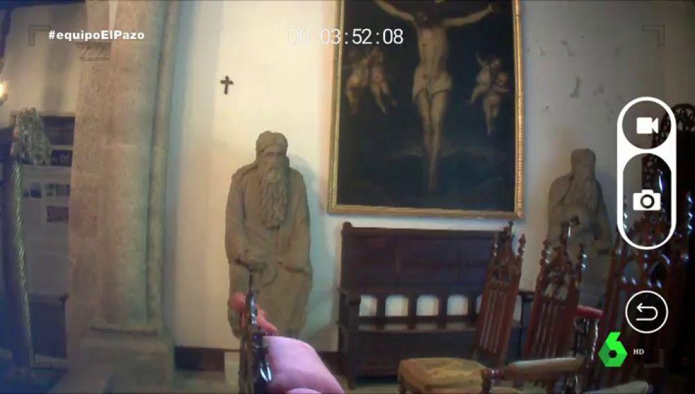 El 'enigma' de los tesoros del Pazo de Meirás: ¿cómo acaban allí dos pilas bautismales del siglo XII y las estatuas de Abraham e Isaac?