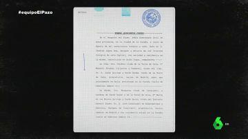 """Este es el documento de la compraventa del Pazo de 1941 que prueba que aquella transacción fue """"una simulación"""""""