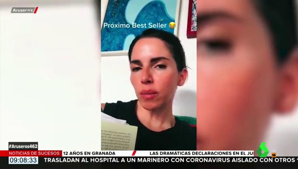 """El mensaje viral de una mujer a su expareja: """"En mi próximo libro, titulado 'Ojalá sufras mucho', explico cómo evitar el rencor"""""""