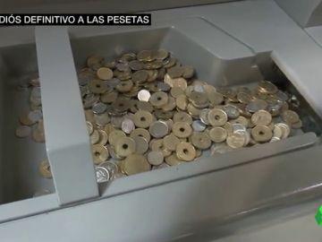 """Historias del adiós definitivo a las pesetas: """""""