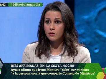 ARRIMADAS ANA BOTELLA E IRENE MONTERO MUJERES