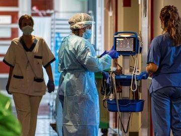 Planta reservada para enfermos covid en el hospital Son Espases de Palma de Mallorca