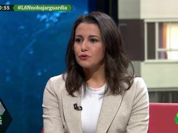 """Inés Arrimadas: """"¿Quién va a ganar la partida, Pablo Iglesias o el sentido común?"""""""