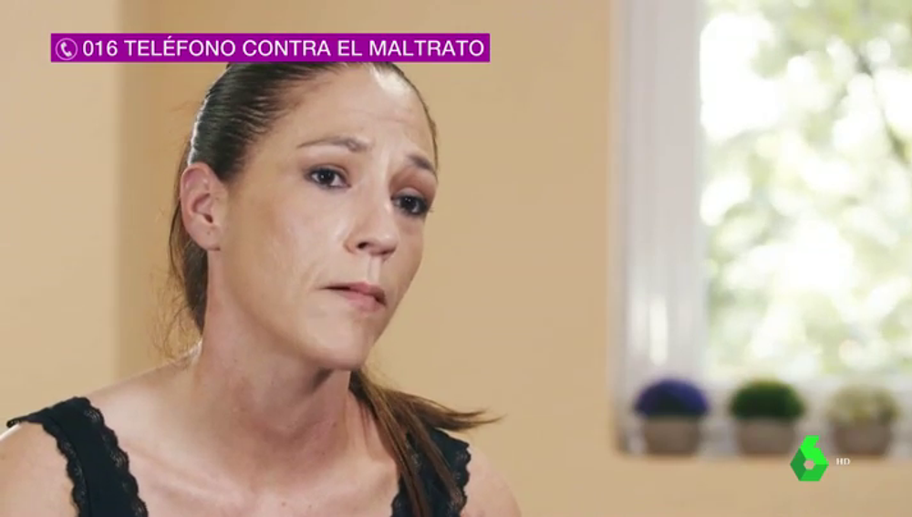 Sara López, víctima de violencia machista