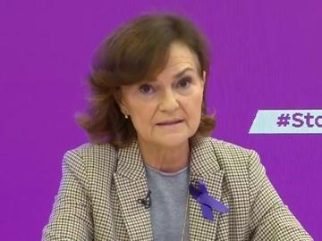 Imagen de la vicepresidenta del Gobierno, Carmen Calvo