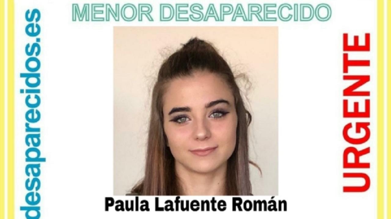 Imagen de la menor desaparecida en Vigo