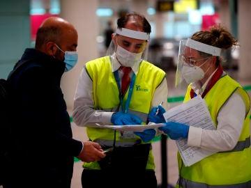 Los aeropuertos se preparan los cribados masivos