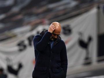 Guardiola, en un partido