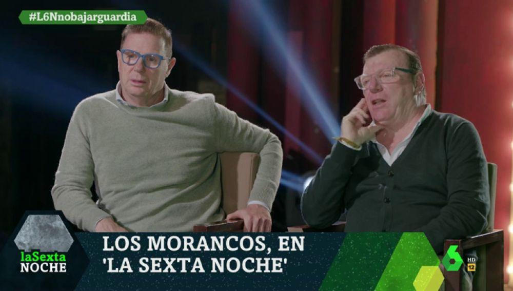 'Los Morancos' desvelan en laSexta Noche el sitio más atípico donde han actuado, un lugar en movimiento y 'con altura'