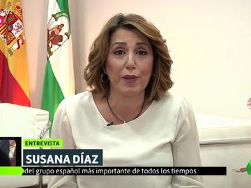 """Susana Díaz: """"Me pongo en la piel de Sánchez; vive una pandemia con un gobierno de coalición y una derecha asalvajada"""""""