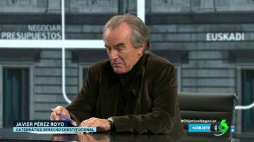 """Javier Pérez Royo: """"Que Bildu haga política es un éxito de la democracia española"""""""
