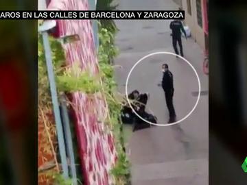 La Policía abate a tiros a un hombre que encañonó a cuatro agentes