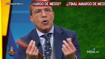 """La confesión más sentimental de Cristóbal Soria: """"Estoy próximo a la bisexualidad por Messi"""""""
