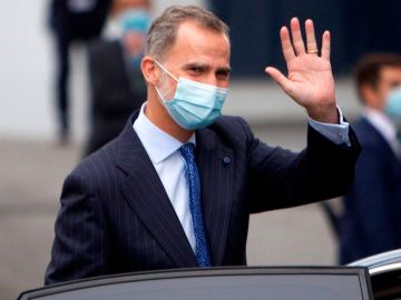 laSexta Noticias 20:00 (23-11-20) El rey Felipe VI, en cuarentena tras estar en contacto con un positivo por Covid-19