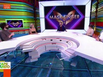 La divertida riña de Dani Mateo a Lorena Castell tras hablar de Pilar Rubio