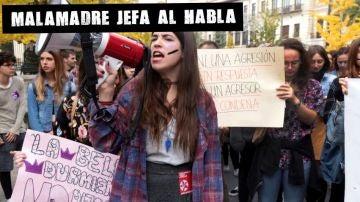 Manifestación contra la violencia machista (Archivo)