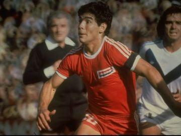 Diego Armando Maradona, en Argentinos Juniors
