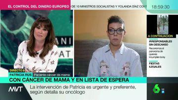 """La denuncia de Mamen Mendizábal: """"¿Alguien piensa en los pacientes que han aguantado meses para ser atendidos con las horas contadas?"""""""
