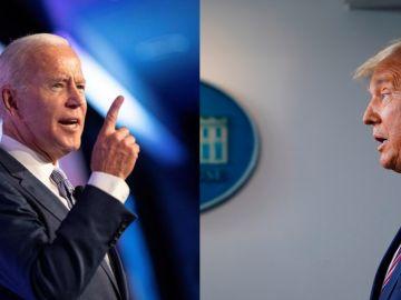 Joe Biden y Donald Trump