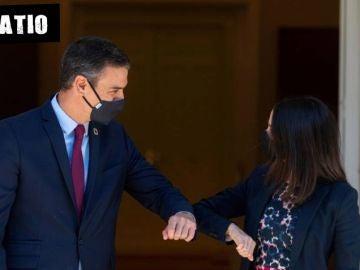 Pedro Sánchez e Inés Arrimadas