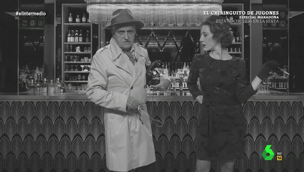 """El detective Wyo acude a socorrer a la 'secretaria' de Jorge Fernández Díaz: """"Tengo información comprometida. Lo sé todo"""""""