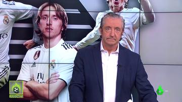 """El consejo de Pedrerol a Luka Modric: """"Busca equipo"""""""