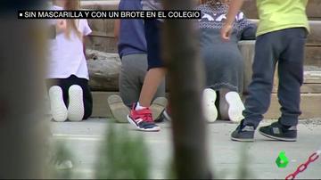 Euskadi lleva ante la Fiscalía a un colegio por no usar mascarilla