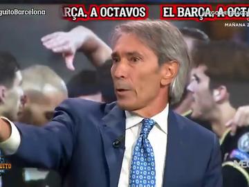"'Lobo' Carrasco ve a Braithwaite fuera del Barça: ""No tiene sitio"""