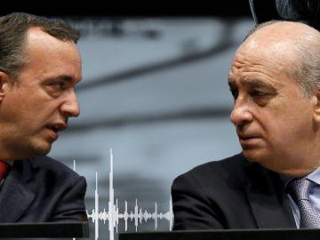 El tenso careo entre Jorge Fernández Díaz y Francisco Martínez