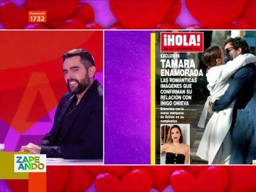 """Dani Mateo reacciona a las imágenes que confirman que Tamara Falcó """"está enamorada"""": """"Yo no quiero verlo"""""""