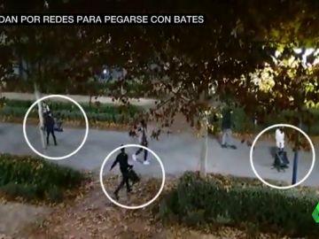 Menores quedan por redes sociales para pegarse con bates, sillas y piedras en Torrejón de Ardoz