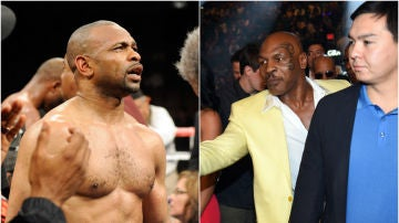 Roy Jones Jr. y Mike Tyson