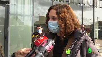 """La 'confesión' de Ayuso en su viaje a Barcelona: """"Me encanta Cataluña, pocas cosas me gustan más"""""""