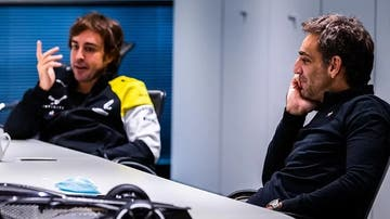 Fernando Alonso y Abiteboul