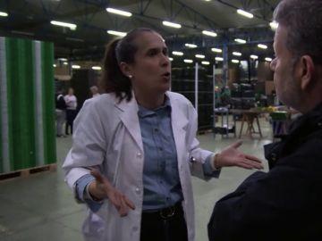"""Chicote descubre cajas sin etiqueta en una exportadora de hortalizas y su dueña niega fraudes: """"Son bulos"""""""