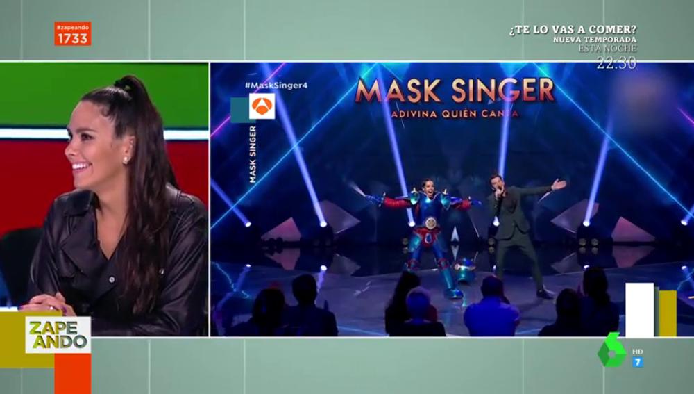 """La reacción de Cristina Pedroche tras ser descubierta en 'Mask Singer': """"Llevo diez años engañándoos en televisión"""""""