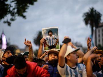 Argentina llora a Maradona