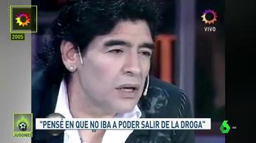 El día que Maradona se entrevistó a sí mismo