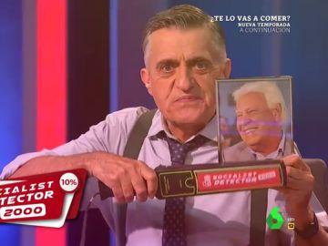 'Socalist detector 2000', la herramienta con la que Felipe González reconoce a los verdaderos 'socialistas'