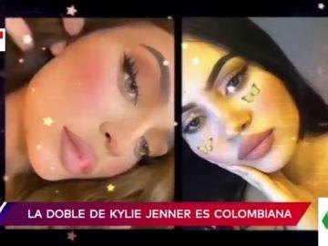 """El impactante parecido entre una tiktoker y Kylie Jenner: """"Son dos gotas de agua"""""""